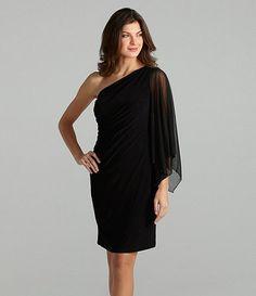 $150.00 Lauren Ralph Lauren OneShoulder Dress #Dillards | dresses ...