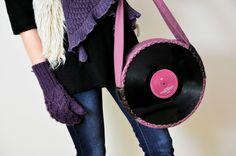 Heather - Torba z płyt winylowych w e-She na DaWanda.com