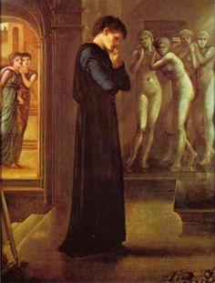 The Heart Desires. The Pygmalion Series, 1870 - Edward Burne-Jones