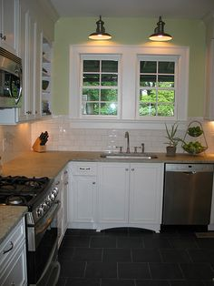 Wall Light Over Kitchen Sink : 1000+ images about Kitchen sink lighting on Pinterest Kitchen sinks, Shelves and Lights
