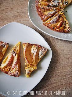 Die LISA Küchenflüsterin über die süßen Seiten des Lebens: Apfel-Polenta-Kuchen
