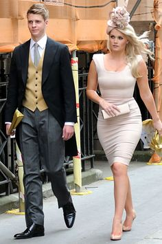 Lady Kitty Spencer- Brother Louis Spencer - Royal Wedding (William Kate)