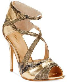 Thalia Sodi Women's Ximena Strappy High Heel Dress Sandals - Evening & Bridal - Shoes - Macy's