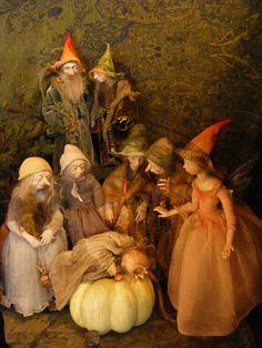 Anna Brahms dollmaker Faeries and Nature Spirits
