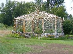 Cool Outdoor Structures Our outdoor structures  are unlike any you have seen.  We make an outhouse look like a palace bathroom and a simple garden look like a masterpiece.
