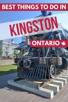 All you need to know about the best things to see, eat and do in Kingston, Ontario, a city known for its history, vibrant downtown, and outdoor spaces. #kingston #visitkingston #kingstonontario #exploreontario #explorecanada #destinationontario #ontario #canada #ontariotravel #canadatravel #traveldestinations