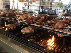 Trailer Grill, Brazilian Bbq, Commercial Kitchen Design, Open Fire Cooking, Spiral Ham, Rotisserie Grill, Wood Grill, Bbq Catering, Char Grill