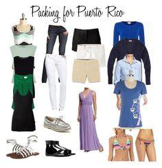 Packing, puerto rico, vacation