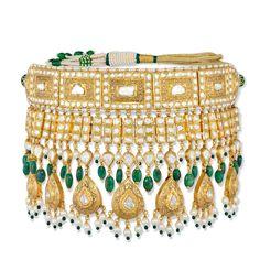 Gold Jewelry Design In India Mughal Jewelry, India Jewelry, Temple Jewellery, Antique Jewelry, Gold Jewelry, Diamond Jewellery, Antique Gold, Photo Jewelry, Fashion Jewelry