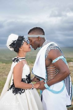 Spiffy Fashion New Xhosa Traditional Wedding Dresses - African Love, African Beauty, African Fashion, African Traditional Wedding, Traditional Wedding Dresses, Zulu, Black Love, Black Is Beautiful, Couple Noir
