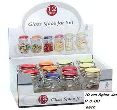 jars for spices | Kitchen Storage & Organisation - 10 cm SPICE JARS - R69,99 FOR 10 was ...