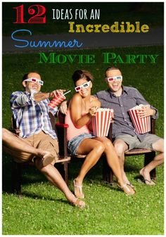 12 Ideas for an Incredible Summer Movie Party | eBay (spon)