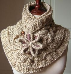 You'll love to make this beautiful Knitted Moon Flower Scarf and it will make a wonderful addition to your wardrobe. Check out this FREE Pattern now.