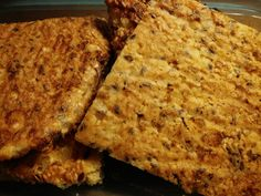 LCHF bread. Fast and easy! And of course tasty!