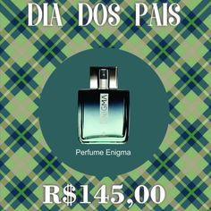 Presente para o Dia dos Pais. Perfume Enigma. Compre através do link! Enigma, Perfume, Link, Dates, Frases, Fragrance