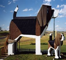 El mejor hotel para perros: el hotel Dog Bark Park Inn