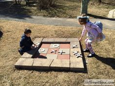 Cute idea for a playground our backyard