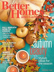 #Free subscription to Better Homes and Gardens Magazine