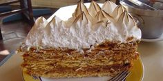 Receta de torta milhojas o rogel