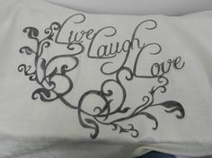 Live Laugh Love Wall Art by SMFus on Etsy, $24.99