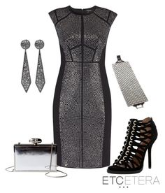 EDGY black and silver-studded dress | www.etcetera.com by etcetera-nyc on Polyvore featuring polyvore, fashion, style, Givenchy, Todd Reed, Etcetera and clothing