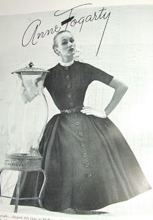 ANNE FOGARTY - an american designer known for her simple and understated women's dress (The New Look)