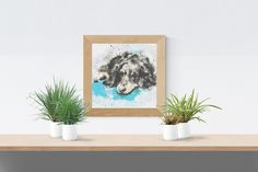 Cross Stitch Pattern: Cocker Spaniel watercolour dog puppy fur baby Stitchy Wonders - embroidery art download chart PDF Hand Embroidery Patterns, Embroidery Art, Cross Stitch Fabric, Cross Stitch Patterns, Cocker Spaniel, Pattern Making, Fur Babies, Watercolour, Dogs And Puppies