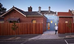 """A semi-translucent addition and a number of interior interventions transformed this house in Melbourne, Australia, into a daylit, functional home to a family of five. Steffen Welsch Architects approached the renovation project by layering activities and spaces and executing them in """"simple moves"""" and economy."""