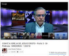 COM É A IGREJA DE JESUS CRISTO - Parte 3 - Dr Pedroza - SIMCEROS - 15/02/2018