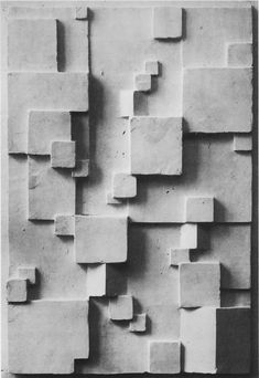 Rudopf Lutz - Bas Relief © Bauhaus Archiv