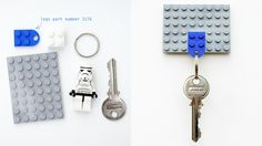 You want your child to never forget the key again? Make it yourself!
