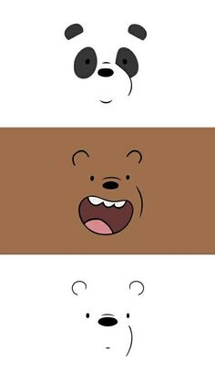 We bare bears wallpaper Panda Cute Panda Wallpaper, Cartoon Wallpaper Iphone, Boys Wallpaper, Cute Disney Wallpaper, Kawaii Wallpaper, Cute Wallpaper Backgrounds, Wallpaper Quotes, Iphone Backgrounds, Wallpaper Desktop