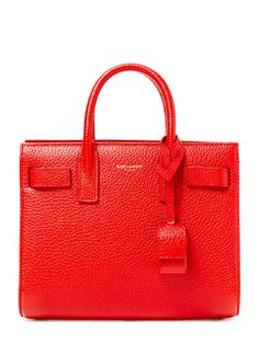 YSL Sac De Jour Grained Leather Nano Satchel