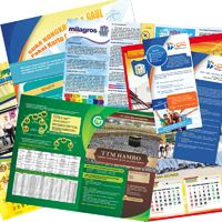 Cetak Kalender, cetak brosur, cetak leaflet dan cetak pamflet