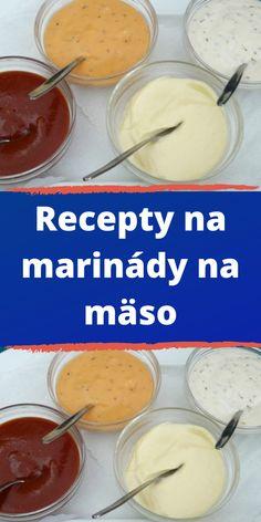 Recepty na marinády na mäso Pudding, Cheese, Desserts, Recipes, Food, Tailgate Desserts, Deserts, Custard Pudding, Essen