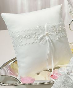Sweet Art Square Ring Pillow