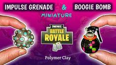 IMPULSE GRANADE & BOOGIE BOMB | FORTNITE | Polymer Clay Tutorial