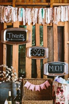 Rustic Themed Card Box (Suitcase) and Decor