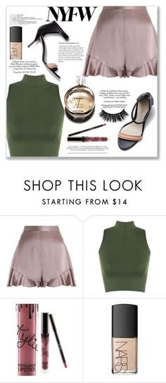 """""""Untitled #435"""" by sandrapopescu on Polyvore featuring Zimmermann, WearAll, 3.1 Phillip Lim, Hermès, Kylie Cosmetics and NARS Cosmetics"""