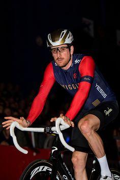 Bradley Wiggins during 'Ciao Fabian' 't Kuipke Gent 2016 / Gregory Van Gansen Bradley Wiggins, Van, Bike, Sports, Biking, Bicycle, Hs Sports, Bicycles, Vans