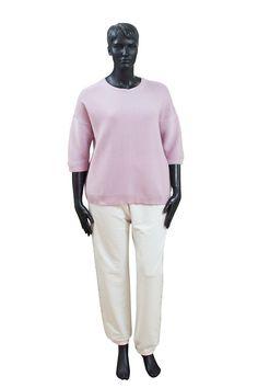 10f617c25d2 Стильные повседневные свитерочки от Francesca Mercuriali в трендовых  весенних оттенках  желтом и розовом. Выполнены