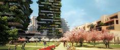 "Green Architecture Takes Big Leap With Milan's ""Vertical Forest"" - Architizer"