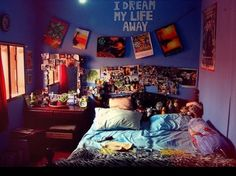 Cute room idea.