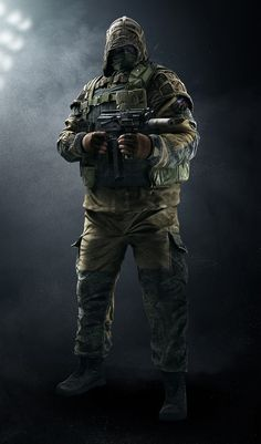 View an image titled 'Kapkan Art' in our Tom Clancy's Rainbow Six Siege art gallery featuring official character designs, concept art, and promo pictures. Rainbow Six Siege Art, Rainbow Six Siege Memes, Rainbow 6 Seige, Tom Clancy's Rainbow Six, Raimbow Six, Siege Operators, R6 Wallpaper, Rainbow Wallpaper, Game Character Design