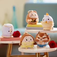 Beauty and the Beast ufufy set comes to the United States and Europe!