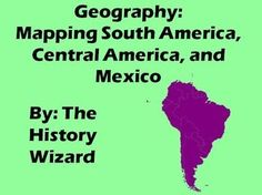 This great mapping activity allows students to map the major political and physical features of South America, Central America, and Mexico. Just download the following South America, Central America, and Mexico maps from the websites below.  Please download the South America Map PDF at http://geoalliance.asu.edu/sites/default/files/maps/S-AMER3.pdf  Please download the Central America Map PDF at http://geoalliance.asu.edu/sites/default/files/maps/MID-AMER.pdf  Please download the Mexico map…