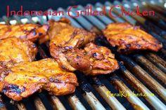 Indonesian Grilled Chicken @feralkitchen