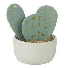 Statuetta cactus in ceramica H14