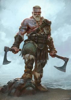 Berserker by Cristi-B.deviantart.com on @DeviantArt (Geek Stuff)