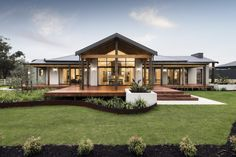 WA Country Builders provides the better building experience to residents of country WA. Most awarded builder in regional WA & builders of the Telethon home. Country Modern Home, Country Home Exteriors, Country House Plans, Country Style Homes, Country Kitchen, Country Builders, New Home Builders, Plan Chalet, Building Companies
